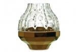 vaso in cristallo baccarat jelly copper