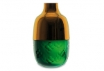 vaso in cristallo baccarat lucky green